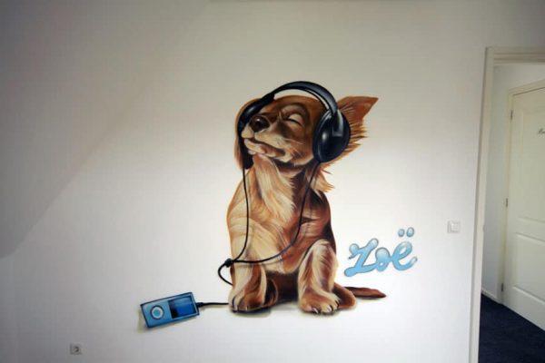 graffiti kinder kamer