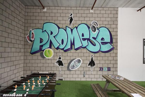 graffiti wandschildering