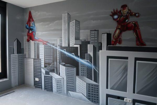superhelden kamer